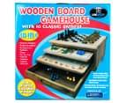 10-in-1 Wooden Board Gamehouse 6