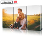 Personalised 3-Piece 60x40cm Rectangle Canvas Set 1