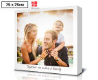 Personalised 75x75cm Square Instagram Canvas 1
