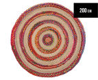 Maple & Elm 200cm Summer Pop Rug - Multi 1