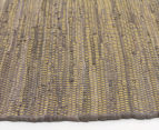 Maple & Elm 270x180cm Summer Fringe Cotton Rug - Yellow 3