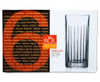 RCR Crystal 440mL Timeless 6-Piece High Ball Tumbler Set 4
