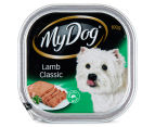 12 x My Dog Lamb Classic Trays 100g 3
