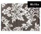 Scotch Thistle 165x115cm Shag Rug - Grey 1
