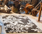 Scotch Thistle 165x115cm Shag Rug - Grey 2