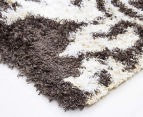 Scotch Thistle 165x115cm Shag Rug - Grey 3