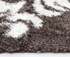 Scotch Thistle 165x115cm Shag Rug - Grey 5