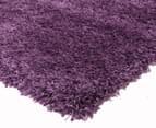 Soft & Plush Matte 170x120cm Shag Rug - Violet 2