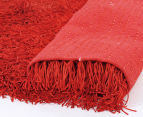 Super Soft 280x190cm Shag Rug - Red 3