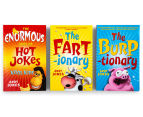 My Explosive Box Of Farts, Burps & Laughs 3-Book Slipcase 1