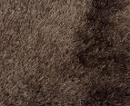 Super Soft Metallic 145x75cm Shag Rug 2-Pack - Ash 4