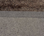 Super Soft Metallic 145x75cm Shag Rug 2-Pack - Ash 5