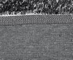 Super Soft Metallic 85x55cm Shag Rug 3-Pack - Winter Grey 5