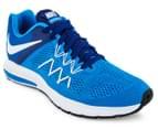 Nike Men's Zoom Winflo 3 Shoe - Photo Blue/White/Deep Royal Blue 2