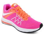 Nike Women's Winflo 3 Shoe - Pink Blast/White/Bright Mango 2