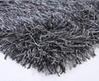 Super Soft 225x155cm Shag Rug - Charcoal/Grey 2