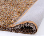 Super Soft 165x115cm Shag Rug - Gold 4