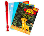 Disney Collection 3 Books & Recorder Pack 2