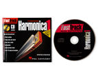Fast Track Mini Harmonica 1 Pack Book/CD/Harmonica 4