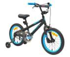Airwalk Surge 40cm BMX Bike - Black/Blue 1