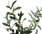 Artificial 92cm Potted Olive Tree - Green 3