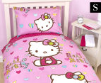 Hello Kitty - Single Quilt Cover Set 1