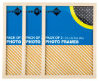 Cooper & Co. A4 3-Pack Trinity Frame - Natural 1