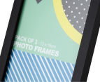 Cooper & Co. 13x18cm 3-Pack Trinity Frame - Black 6