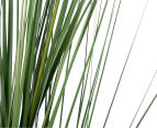 Artificial 90cm Potted Feather Reed Plant - Green/White 3