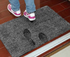Super Absorbent Doormat - Black/White 2