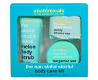 Anatomicals The Non Sinful Skinful 3-Piece Body Care Kit 1