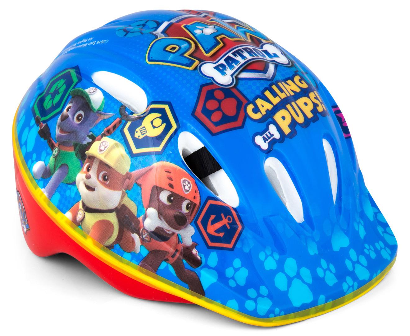 Paw Patrol Toddler Helmet Blue Catch Com Au