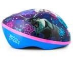 Frozen Kids' Helmet -Blue/Purple 2