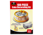 100-Piece Cake Decorating Kit 1