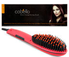 Cabello Glow Straightening Brush - Red 1