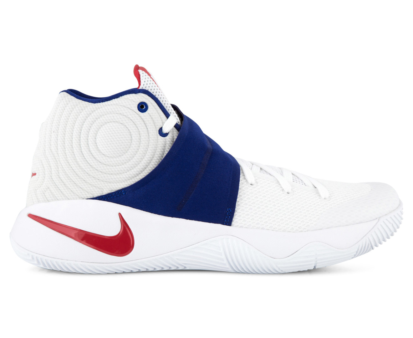800c0ba8052 Nike Kyrie 2 White Red Extreme Kyrie 2 Red White And Blue