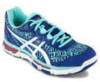 ASICS Women's GEL-Netburner Professional 12 Shoe - ASICS Blue/White/Aruba Blue 2