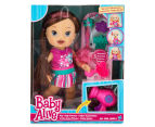 Baby Alive Play 'N Style Christina Doll - Brunette 1
