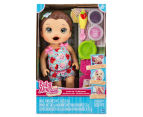 Baby Alive Snackin' Lily Doll - Brunette 1