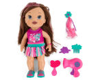Baby Alive Play 'N Style Christina Doll - Brunette 2