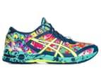 ASICS Women's GEL-Noosa Tri 11 Shoe - Poseidon/Safety Yellow/Cockatoo 1