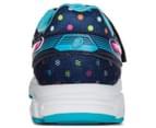 ASICS Pre-School Kids' Pre Contend 3 PS Shoe - Indigo Blue/Pink Glow/Aquarium 4