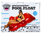 BigMouth Inc. Giant Red Gummy Bear Pool Float - Red 3