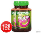 2 x Cenovis Once Daily Women's Multi + Energy Boost 60 Caps 1