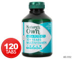 Nature's Own Mega Potency 50+ Years Multivitamin 120 Tabs 1
