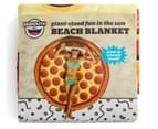 BigMouth Inc. Gigantic Pizza Beach Blanket - Multi 5