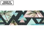 Angled Palms 90x30cm Canvas Wall Art 1