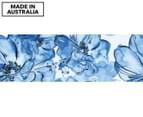 Happy Days Blue 90x30cm Canvas Wall Art 1