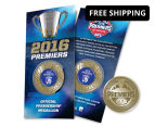 Western Bulldogs 2016 AFL Premiers Blister Pack Collectible Medallion 1