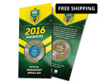 Cronulla Sharks 2016 NRL Premiers Blister Pack Collectible Medallion 1